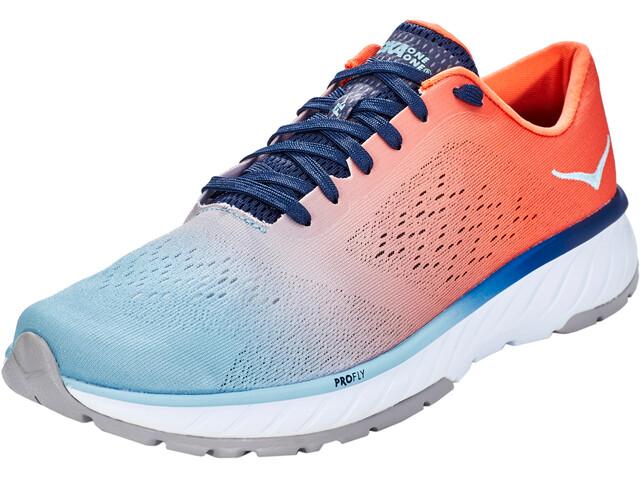 Hoka One One Cavu 2 Running Shoes Herre nasturium/forget-me-not